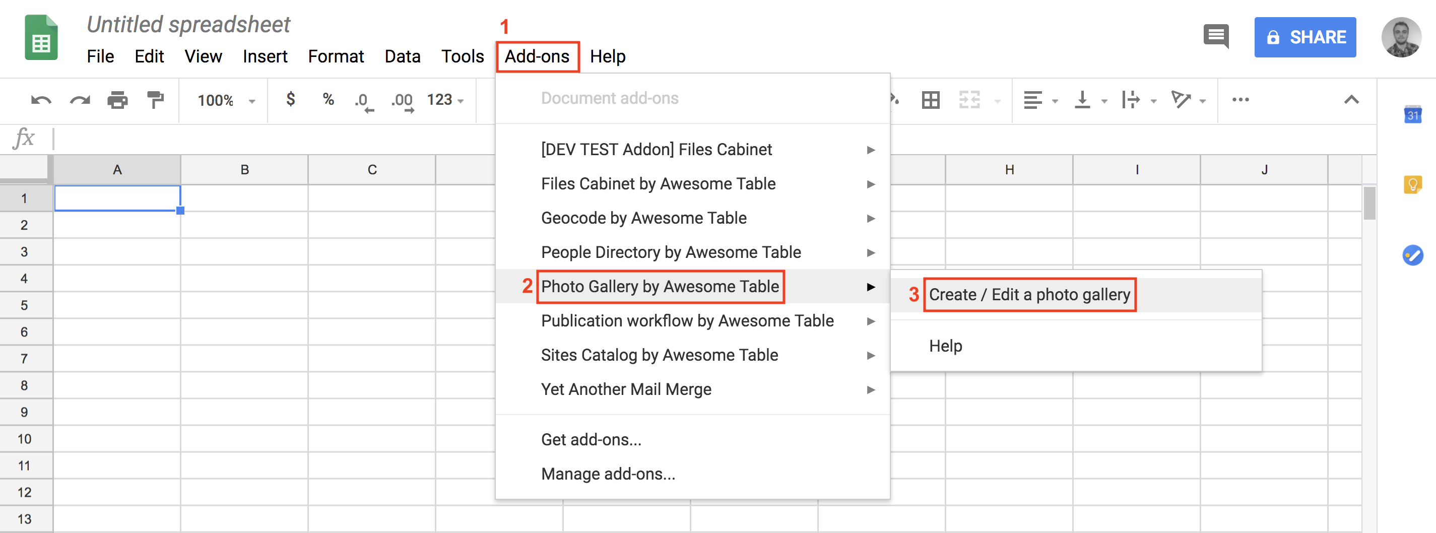Display images from Google Drive – Documentation - Awesome